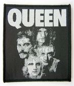 Queen - 'Group Faces' Woven Patch